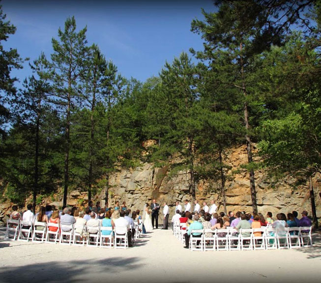 Quarry Wedding Right Image